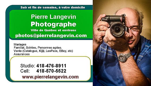 Pierre Langevin Photographe – Région de Québec